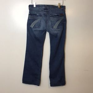 7 for all Mankind Dojo Jeans. Size 31